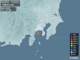 2008年07月25日00時35分頃発生した地震