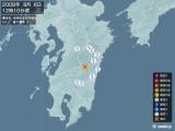 2008年08月06日12時10分頃発生した地震