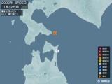 2008年08月25日01時32分頃発生した地震