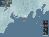 2008年11月29日15時30分頃発生した地震