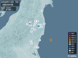 2008年12月07日08時28分頃発生した地震
