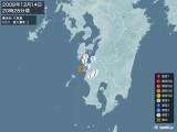 2008年12月14日20時28分頃発生した地震
