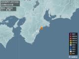 2008年12月14日22時44分頃発生した地震