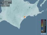 2008年12月29日13時34分頃発生した地震