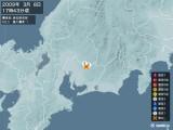 2009年03月08日17時43分頃発生した地震