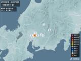 2009年04月28日05時35分頃発生した地震