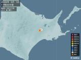 2009年05月01日17時40分頃発生した地震