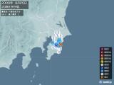 2009年08月25日20時19分頃発生した地震