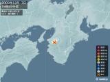2009年12月07日19時49分頃発生した地震