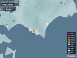 2009年12月31日06時32分頃発生した地震