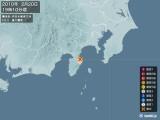 2010年02月20日19時10分頃発生した地震