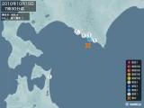 2010年10月19日07時30分頃発生した地震