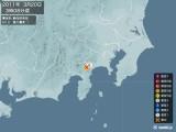 2011年03月20日03時08分頃発生した地震
