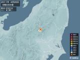 2011年04月26日06時03分頃発生した地震
