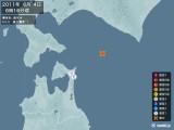 2011年06月04日06時16分頃発生した地震