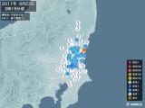 2011年06月23日03時19分頃発生した地震