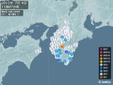 2011年07月04日11時07分頃発生した地震
