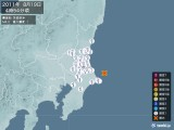 2011年08月19日04時54分頃発生した地震