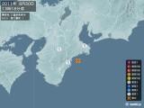 2011年08月30日13時18分頃発生した地震