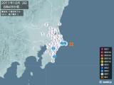 2011年10月03日06時49分頃発生した地震