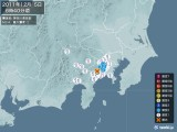 2011年12月05日06時40分頃発生した地震