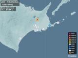 2011年12月25日05時49分頃発生した地震