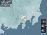 2012年01月29日15時16分頃発生した地震