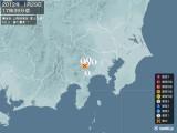 2012年01月29日17時39分頃発生した地震