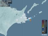 2012年02月28日23時30分頃発生した地震
