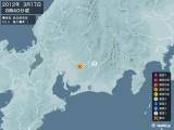 2012年03月17日08時40分頃発生した地震
