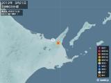 2012年03月21日19時03分頃発生した地震