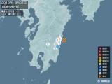 2012年03月27日14時58分頃発生した地震