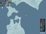 2012年04月27日03時44分頃発生した地震