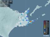 2012年05月04日14時34分頃発生した地震