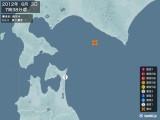 2012年06月03日07時38分頃発生した地震