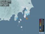 2012年06月20日20時20分頃発生した地震