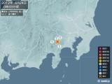 2012年06月24日00時33分頃発生した地震