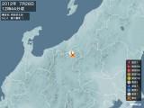 2012年07月28日12時44分頃発生した地震