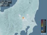 2012年07月28日22時17分頃発生した地震