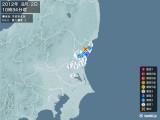2012年08月02日10時34分頃発生した地震