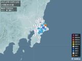 2012年10月12日23時35分頃発生した地震