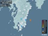 2012年10月26日01時54分頃発生した地震