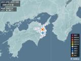 2012年12月19日08時57分頃発生した地震