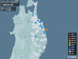 2012年12月26日04時59分頃発生した地震