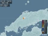 2013年01月27日05時21分頃発生した地震