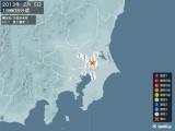 2013年02月05日19時08分頃発生した地震