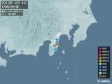 2013年04月04日18時09分頃発生した地震