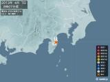 2013年04月07日08時07分頃発生した地震