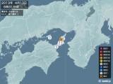 2013年04月13日06時31分頃発生した地震