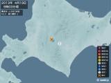 2013年04月19日09時03分頃発生した地震